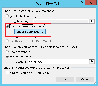 Getting Start With Data Analysis Using Ssas Tabular Modeling In