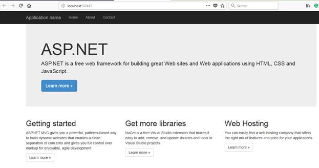 Getting Started with ASP.NET MVC