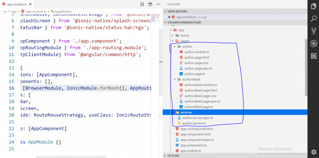 Getting Started With Ionic 4, Angular And .NET Core 3