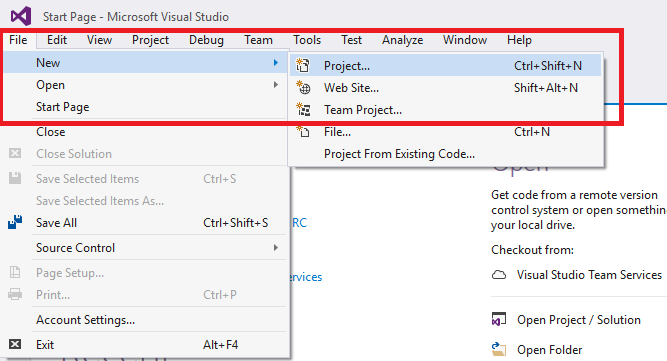 how to open sdf file in visual studio 2017