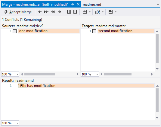 Git Operations With Visual Studio