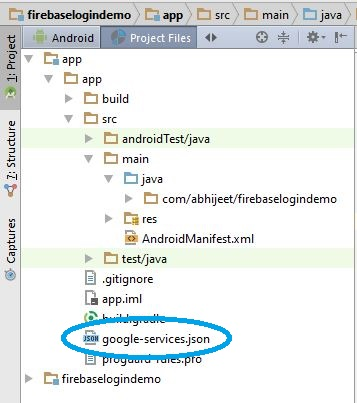 Google-Services.json