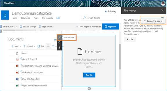 How Open Selected Document In File Viewer (Word, Excel, Power Point And PDF) In SharePoint Modern Sites