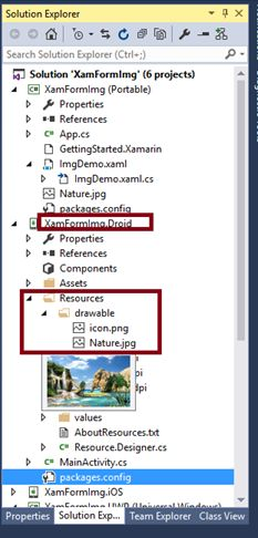 How to add android support v4 widget drawerlayout in xamarin