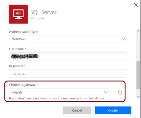 How To Connect On-Premise SQL Server From Microsoft Flow Using Azure On-Premise Data Gateway