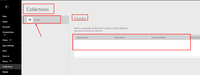 How To Create A Header In PowerApps Blank Gallery - PowerApps Grid View