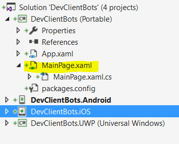 ChatBot In Xamarin