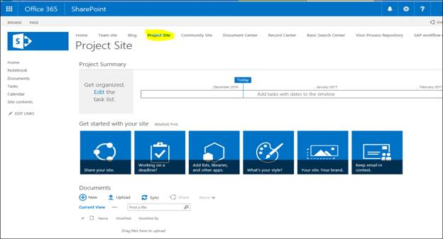 How To Create SharePoint Online Subsite Using Available Template On ...