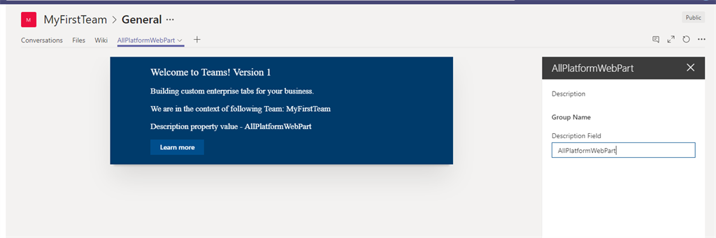 How To Deploy/Update/Upgrade Existing SFx Webpart To Microsoft Team