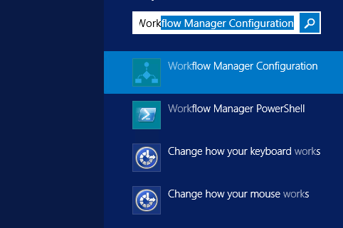Configuration of SharePoint 2013 workflow in SharePoint Designer 2013