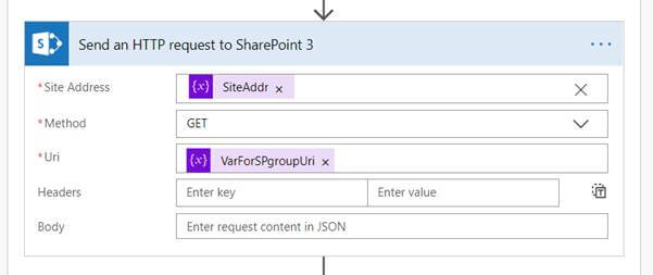 How To Get Users From A SharePoint Group In MS Flow
