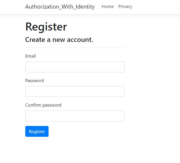How To Implement Authentication Using Identity Model In ASP.NET Core