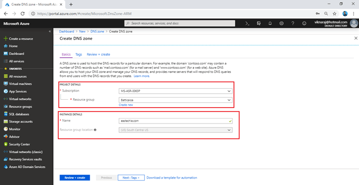 How To Map Our External Domain Name To Azure