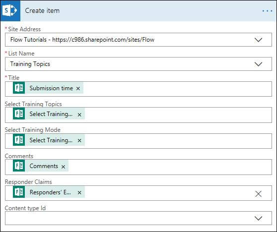How To Record Microsoft Form Responses In SharePoint Using Microsoft Flow
