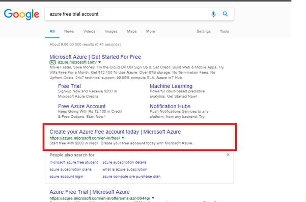 How To Register With Microsoft Azure Account With $200 Credits