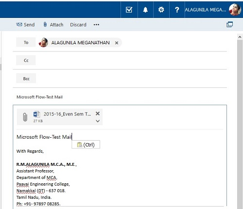 How To Save Office 365 Email Attachment To OneDrive With