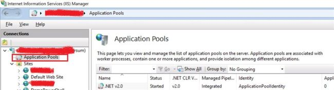 Start And Stop IIS App Pool