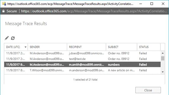How To Track Or Trace The Message In Office 365 Exchange Online