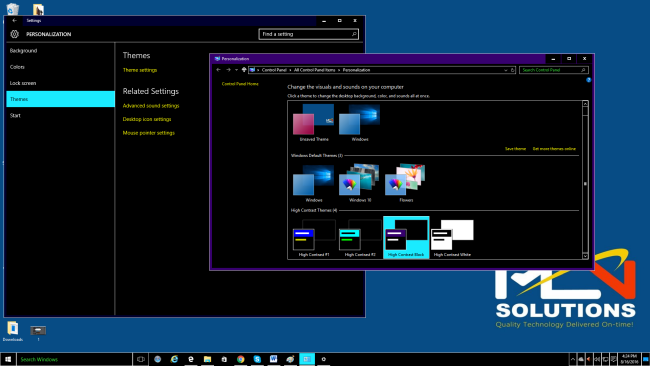 how to change your windows 10 color scheme without activation
