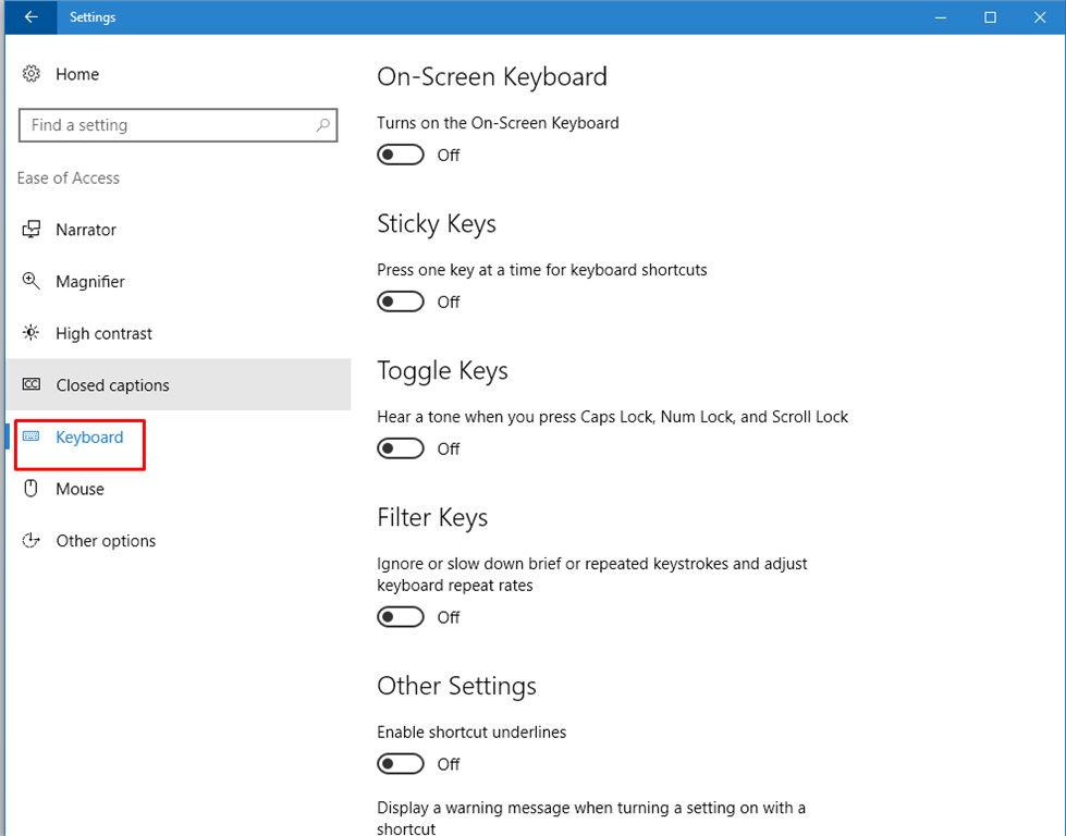 how to change distance of mouse keys on windows 10