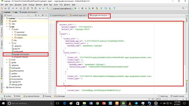 how to add google api in android studio