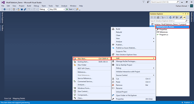 How to use Join operation with multiple SQL database tables Using LINQ