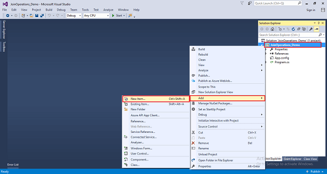 How To Use Join Operations With Database Using LINQ