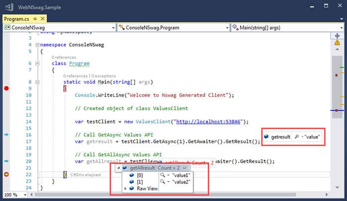 How To Use Nswag With ASP.NET Core And Generate Client Code With Nswag Studio