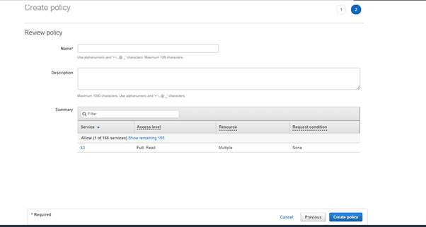 IAM Policis In AWS Account And Service Layer