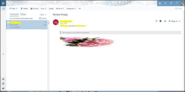 Image Rendering Issue In Outlook Through Microsoft Flows