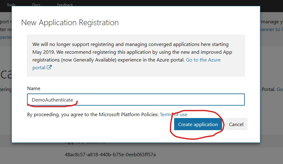 Implement Microsoft and Twitter Based Authentication in Asp.Net Core 2.2