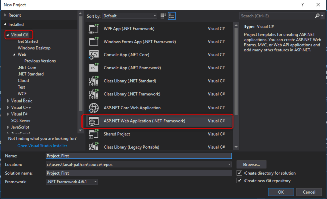 Install NuGet packages in Visual Studio