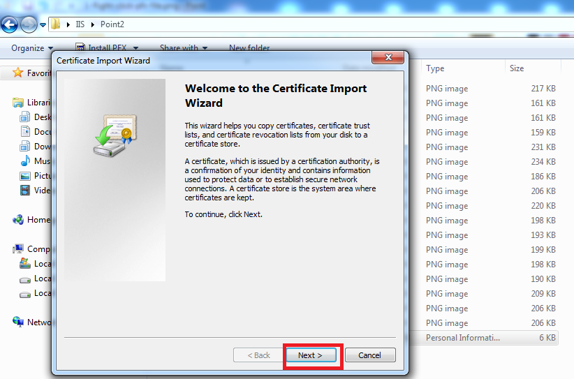 Install Ssl Certificate X Fileto Iis On Windows Server Machine