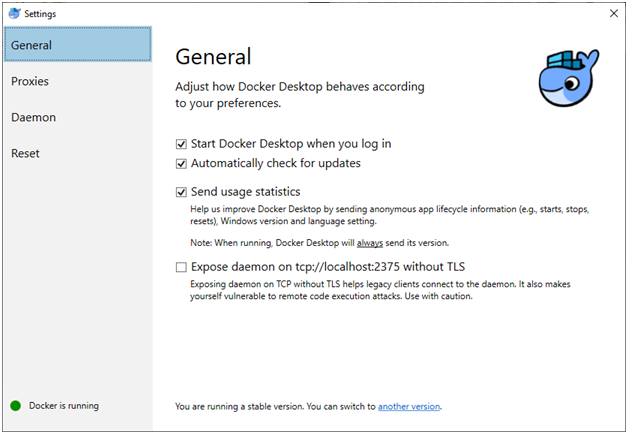 Installing Docker and Running Container Locally