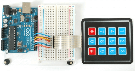 Interfacing the keyboard with arduino in python coding