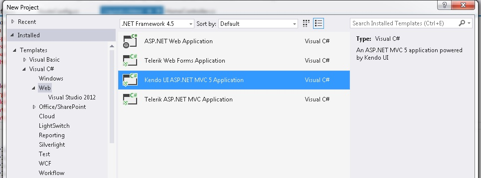Introduction To Kendo UI And Open Modal Popup Using Kenod UI MVC 5