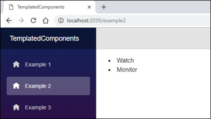 Templated components in Blazor