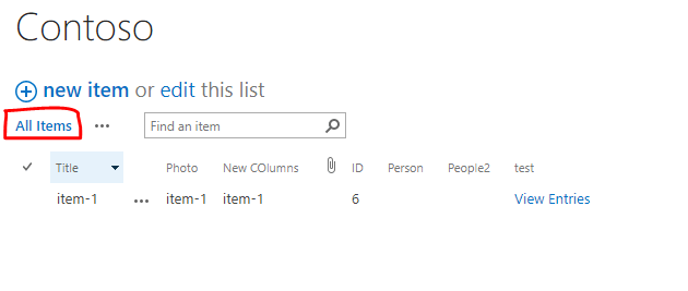 Learn SharePoint In Series - Part Thirty Five - Standard View and Datasheet View