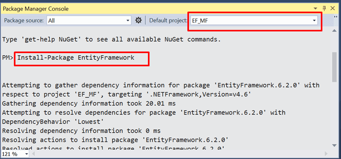 Data Access Approaches of Entity Framework in .NET