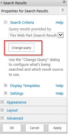 Limiting Search For A Specific Library In SharePoint 2013