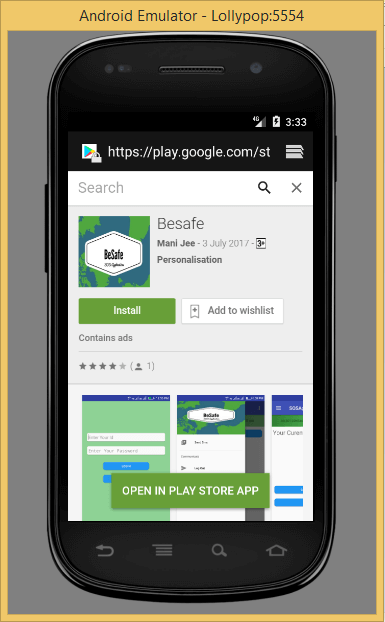 Install play store app in android emulator | Peatix