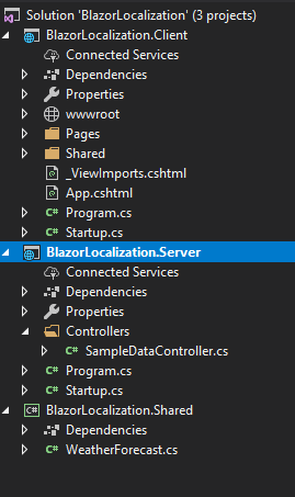 Localization in Blazor App using Microsoft.JSInterop
