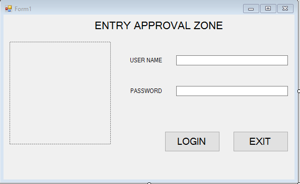 Connecting Login Form In C With Database For User Type Authentication