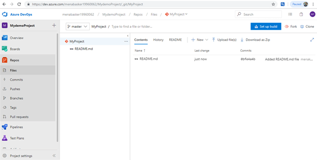 Manage Code In GIT With Azure Devops