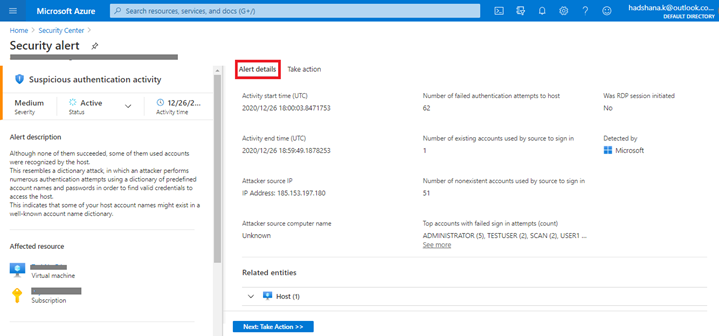 Manage Security Alerts In Azure Security Center