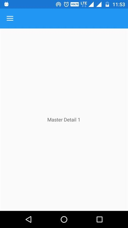 Master Detail Page In Xamarin.Forms Using FreshMVVM