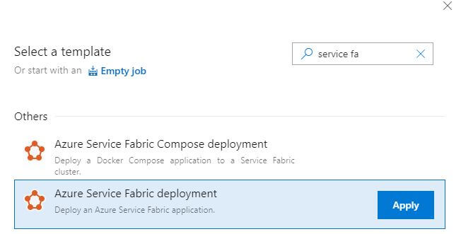 MicroServices using Service Fabric and .Net Core with CI - CD