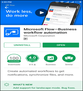 Microsoft Flow In 10 Days - Day Three - Flow In Mobiles