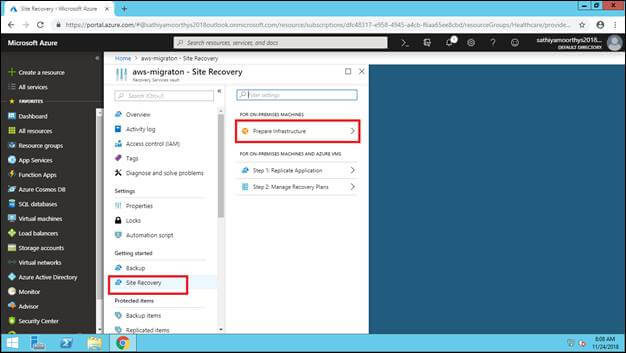 Migration - Install Azure Site Recovery (ASR) Service In AWS