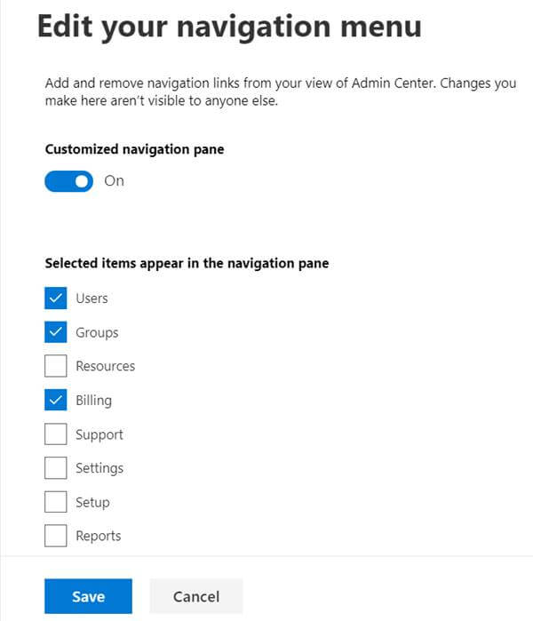 Office 365 New Admin Center Preview